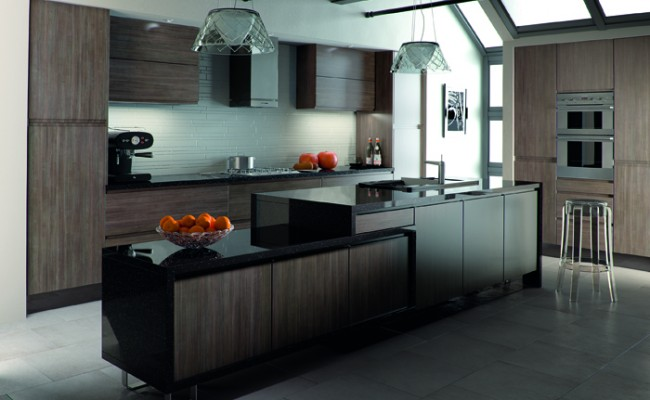 Avola Flint Grey Knebworth Kitchen