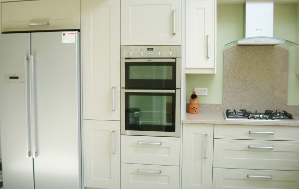A very elegant kitchen in natural colours