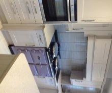 Spacious kitchen with excellent storage