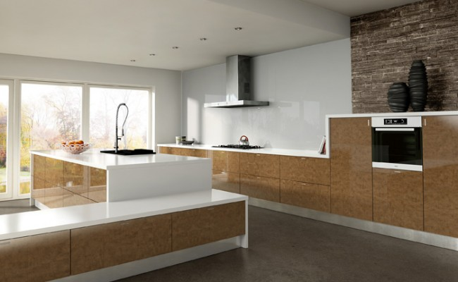 Ultra Gloss Copperleaf Kitchen