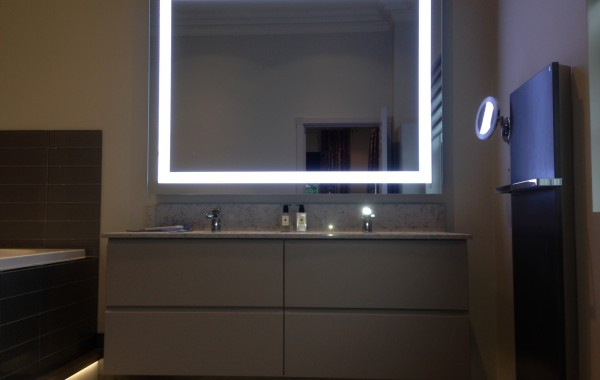 Bespoke Back Lit Mirror